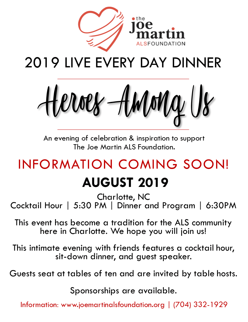 2019 Save the date